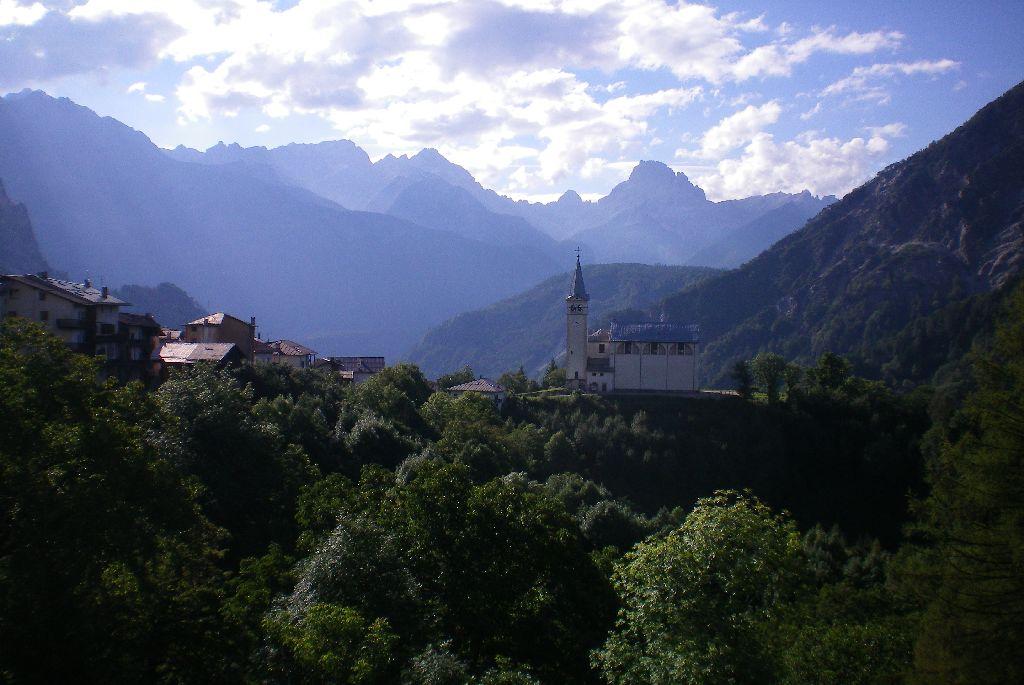 panorama Valle di Cadore