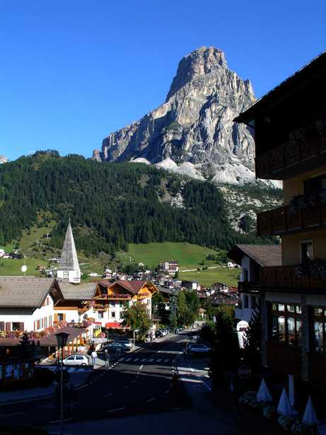 panorama Corvara in Badia