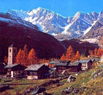 panorama Macugnaga
