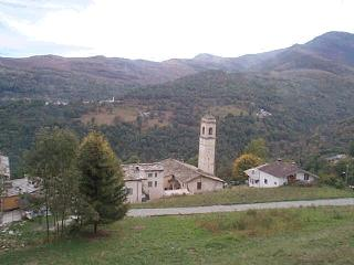 panorama Oncino
