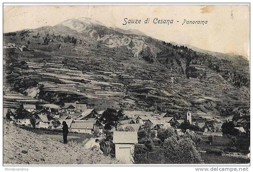 panorama Sauze di Cesana