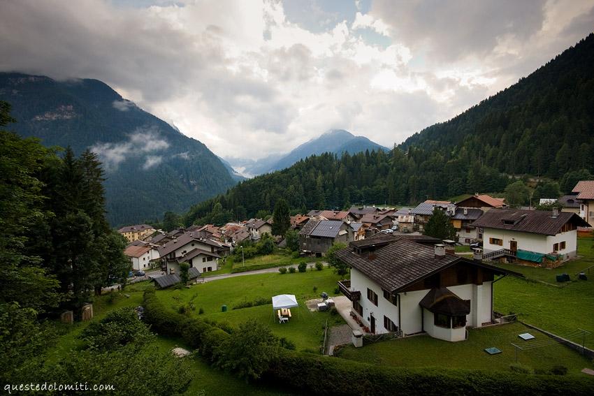 panorama Vallada Agordina